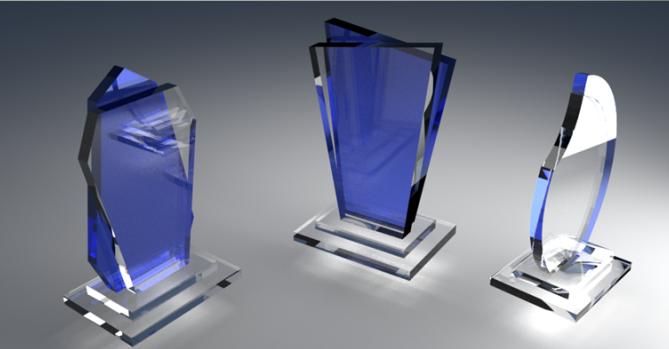 Производство кубков и статуэток из акрила